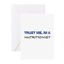 Trust Me I'm a Nutritionist Greeting Cards (Pk of