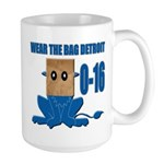 Wear The Bag Detroit Large Mug