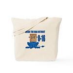 Wear The Bag Detroit Tote Bag