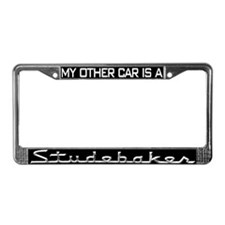 Cool South bend License Plate Frame
