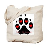 """Black and Tan Coonhound"" Tote Bag"
