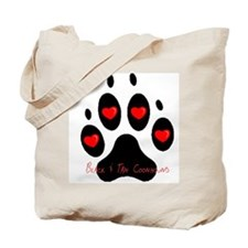 """Black and Tan Coonhound"" Tote Bag"