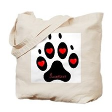 """Bullmastiff"" Tote Bag"