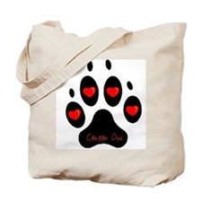 """Canaan Dog"" Tote Bag"