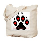 """German Wirehaired Pointer"" Tote Bag"