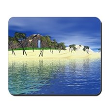 South Pacific Island Mousepad