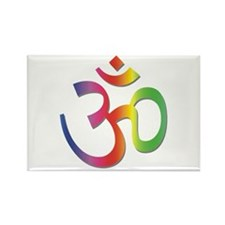 Chakra Aum Rectangle Magnet