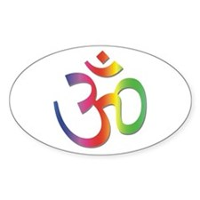 Chakra Aum Oval Decal