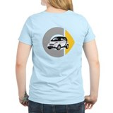What's Your Color? White Smart Car Light T-Shirt