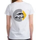 What's Your Color? White Smart Car Tee