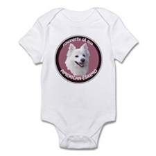 American Eskimo Pawperty Infant Bodysuit
