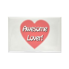 Awesome Lover Rectangle Magnet