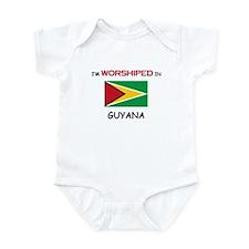 I'm Worshiped In GUYANA Infant Bodysuit