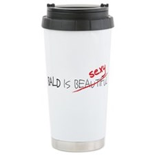 Bald is SEXY Ceramic Travel Mug