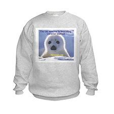 Save the seals! Sweatshirt