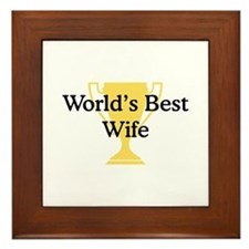 WB Wife Framed Tile