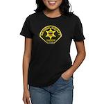Orange Sheriff Women's Dark T-Shirt