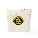 Orange Sheriff Tote Bag