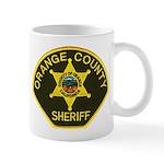 Orange Sheriff Mug