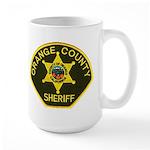 Orange Sheriff Large Mug