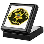Orange Sheriff Keepsake Box
