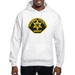 Orange Sheriff Hooded Sweatshirt