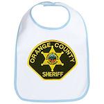 Orange Sheriff Bib
