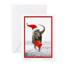 HAPPY HOLIDAYS! Dinosaur Greeting Cards (10 Pack)