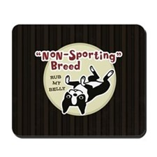 Boston Terrier Nonsporting Mousepad