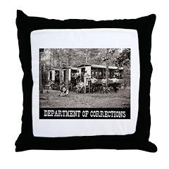Chain Gang 1910 Throw Pillow