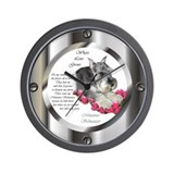 Miniature Schnauzer Wall Clock