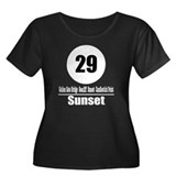29 Sunset (Classic) Women's Plus Size Scoop Neck D