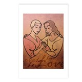 Lesbian Valentine Love Postcards (Package of 8)