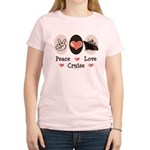 Peace Love Cruise Women's Light T-Shirt