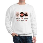 Peace Love Cruise Sweatshirt