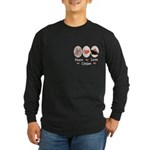 Peace Love Cruise Long Sleeve Dark T-Shirt