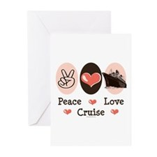 Peace Love Cruise Greeting Cards (Pk of 20)