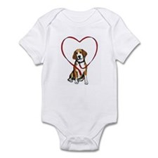 Love Your Beagle Infant Bodysuit
