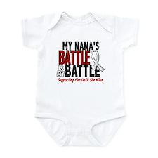 My Battle Too 1 PEARL WHITE (Nana) Infant Bodysuit