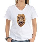 Las Vegas PD Inspector Women's V-Neck T-Shirt