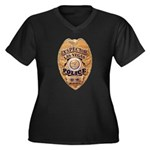 Las Vegas PD Inspector Women's Plus Size V-Neck Da