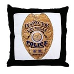 Las Vegas PD Inspector Throw Pillow
