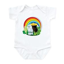 Poodle St Patricks Day Infant Bodysuit