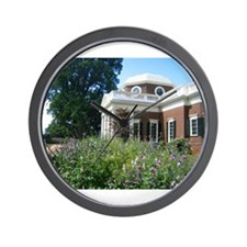 Monticello, Virginia Wall Clock