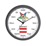 Austrian OES Wall Clock