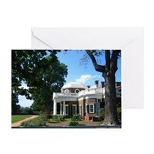 Monticello, Virginia Greeting Card