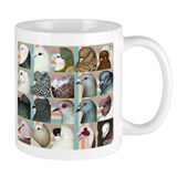 Twenty Pigeon Heads Coffee Mug