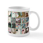 Twenty Pigeon Heads Mug