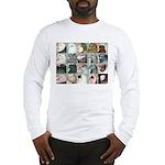 Twenty Pigeon Heads Long Sleeve T-Shirt