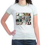 Twenty Pigeon Heads Jr. Ringer T-Shirt